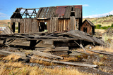 Native Indian Abandoned Building Photographic Print by  sphraner