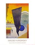 Punta arqueada, 1924 Lámina coleccionable por Wassily Kandinsky