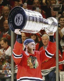 Patrick Kane Celebrating with the Stanley Cup  2015 Photo