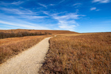 Pathway into the Prairie Photographic Print by  tomofbluesprings