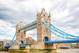 London Tower Bridge on Thames River Photographic Print by Mohana AntonMeryl