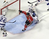 Duncan Keith Goal Game 6 of the 2015 Stanley Cup Finals Photo