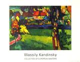 Murnau, 1909 Samlertryk af Wassily Kandinsky