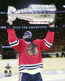 Johnny Oduya Celebrating with the Stanley Cup  2015 Photo