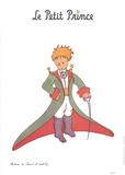 Petit Prince et la cape rouge Art by Antoine de Saint Exupery