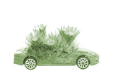 Save the World Concept of Car and Plant Photographic Print by  sirichaibigstock