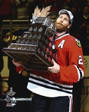 Duncan Keith with the Conn Smythe Trophy  2015 Stanley Cup Finals Photo