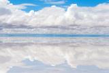 Lake Salar De Uyuni with Thin Layer of Water Photographic Print by  DmitryBurlakov