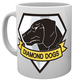Metal Gear Solid - Diamond Dogs Mug Mug
