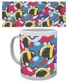 Pokemon - Pokeballs Mug Krus