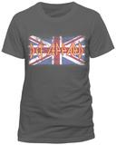 Def Leppard - Union Jack T-shirts