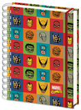 Marvel Faces A5 Notebook Journal