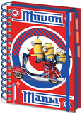 Minions - British A5 Project Book Journal