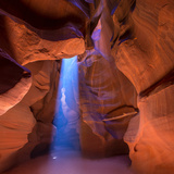 Antelope Canyon Arizona Light Beams on Navajo Land near Page Photographic Print by  holbox
