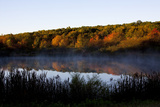 Pond Early in Morning, October, Canterbury, Connecticut, USA Photographic Print by Lynn M. Stone
