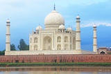 The Taj Mahal Agra India Photographic Print by  awesomeaki