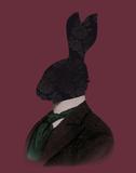Rabbit Man Posters by Clara Wells