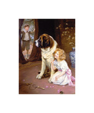 Hide and Seek Premium Giclee Print by Arthur Elsley