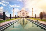 Taj Mahal in India Photographic Print by Marina Pissarova