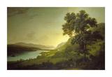 Loch Ness and Dochfour House Premium Giclee Print by Alexander Nasmyth