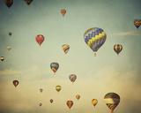 Dusk Balloons Prints by Irene Suchocki