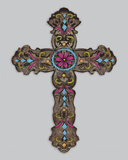 Cross III Kunst af Maria Mendez