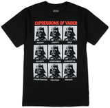 Star Wars- Vader Expressions T-paidat