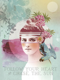 Follow Your Heart Prints by Anahata Katkin