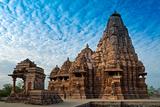 Kandariya Mahadeva Temple, Khajuraho, India, Unesco Heritage Site. Photographic Print by Rudra Narayan Mitra