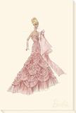 Pink Evening Gown Barbie™ Fashion Leinwand von  Best