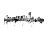 San Francisco City Skyline Photographic Print by Michael Tompsett