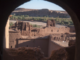 Ancient Structure in Ait Ben Hadou, Morocco Photographic Print by David H. Wells
