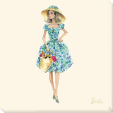 Market Day™ Barbie® Fashion Stretched Canvas Print by  Best