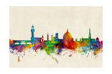 Florence Italy Skyline Photographic Print by Michael Tompsett