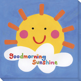 Goodmorning Sunshine Stretched Canvas Print by  Tatutina