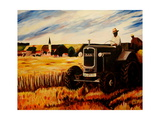 The Farmer Giclee Print by Markus Bleichner