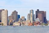 Boston Harbor Skyline, USA Photographic Print by  jiawangkun