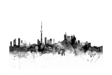 Toronto Canada Skyline Photographic Print by Michael Tompsett