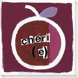 Cheri(e) Stretched Canvas Print by  Koconis