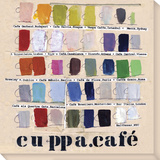 Cuppa.café Stretched Canvas Print by  Koconis