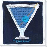 Blue Bird Reproducción en lienzo de la lámina por  Koconis