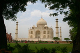 Taj Mahal - India Photographic Print by  rajjawa
