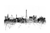 Paris France Skyline Photographic Print by Michael Tompsett