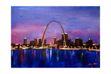 St Louis Gateway Arch at Sunset Posters by Markus Bleichner