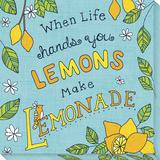 When Life Hands You Lemons, Make Lemonade Reproducción en lienzo de la lámina por  Skelley
