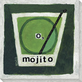 O, Mojito Stretched Canvas Print by  Koconis