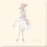 Garden Party™ Barbie® Doll (2009) Stretched Canvas Print by  Best