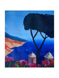 Ravello Salerno Italy View of Amalfi Coast from Vi Giclee Print by Markus Bleichner