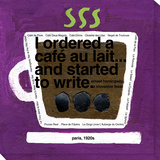 Café au Lait Stretched Canvas Print by  Koconis