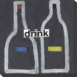 drink Stretched Canvas Print by  Koconis